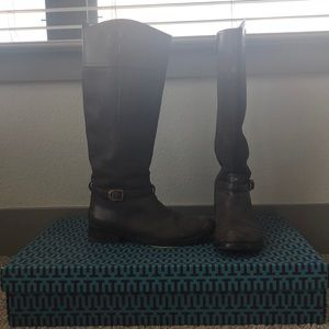 tory burch simone riding boot